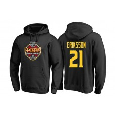 Vancouver Canucks #21 Loui Eriksson Black 2017 China Game Pullover Hoodie