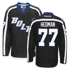 Tampa Bay Lightning Victor Hedman #77 Black Alternate Jersey