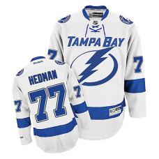 Tampa Bay Lightning Victor Hedman #77 White Away Jersey