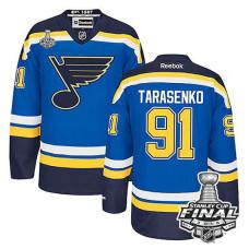 St. Louis Blues Vladimir Tarasenko #91 Blue 2016 Stanley Cup Jersey
