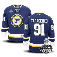 St. Louis Blues Vladimir Tarasenko #91 Navy Blue 2016 Stanley Cup Jersey