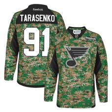 St. Louis Blues Vladimir Tarasenko #91 Camo Veteran's Day Jersey