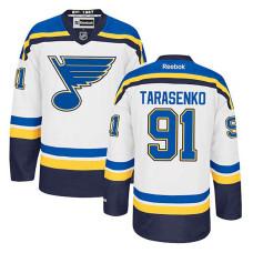 St. Louis Blues Vladimir Tarasenko #91 White Away Jersey