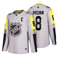 Washington Capitals #8 Alex Ovechkin 2018 All Star Captain Jersey