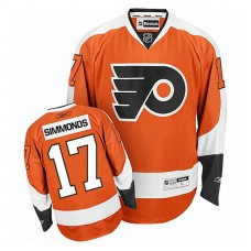 Youth Philadelphia Flyers Wayne Simmonds #17 Orange Home Jersey