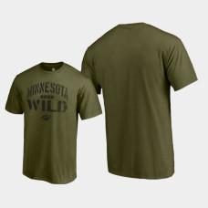 Jungle T-Shirt Green Camo Collection Minnesota Wild