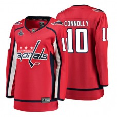 Women's Washington Capitals #10 Brett Connolly Red Breakaway Player Home Stanley Cup Final Bound 2018 Jersey