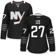 Women's Anders Lee #27 New York Islanders Black Alternate Premier Jersey