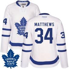 Women s Auston Matthews  34 Toronto Maple Leafs White Premier Home Jersey 666a03d2a4
