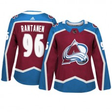 Women's Colorado Avalanche #96 Mikko Rantanen Maroon Adizero Player Home Jersey