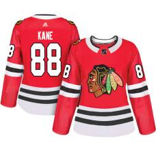 Women's Chicago Blackhawks #88 Patrick Kane Red Adizero Player Home Jersey