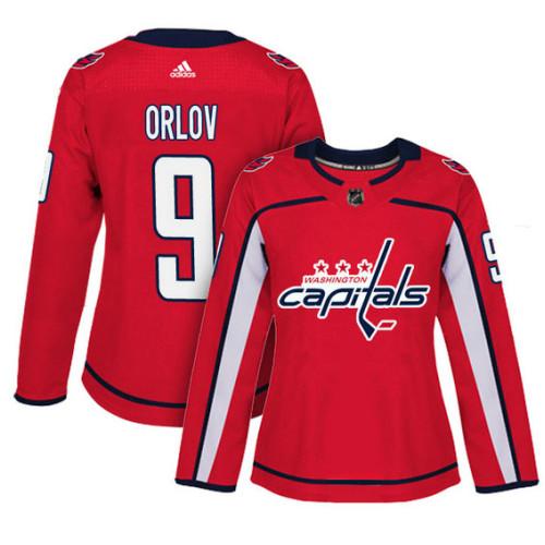 buy popular 6a341 183ae Women's Washington Capitals #9 Dmitry Orlov Red Adizero ...