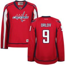 Women's Dmitry Orlov #9 Washington Capitals Red Premier Home Jersey