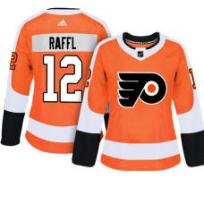 Women's Philadelphia Flyers #12 Michael Raffl Orange Adizero Player Home Jersey