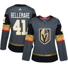 Women's Vegas Golden Knights #41 Pierre-Edouard Bellemare Gray Adizero Player Home Jersey
