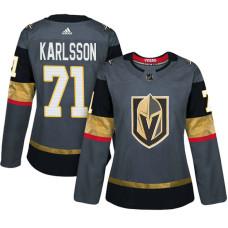 Women's Vegas Golden Knights #71 William Karlsson Gray Adizero Player Home Jersey
