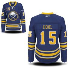 Women's Sabres #15 Jack Eichel Navy Blue Premier Home Jersey