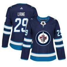 Women's Winnipeg Jets #29 Patrik Laine Navy Adizero Player Home Jersey