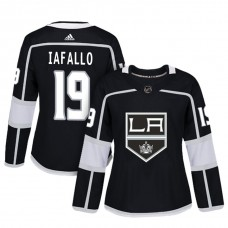 Women's Los Angeles Kings #19 Alex Iafallo Black Adizero Player Home Jersey