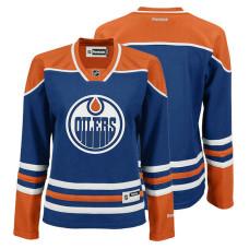 Women's Edmonton Oilers Royal Home Premier Jersey