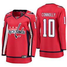 Women's Washington Capitals #10 Brett Connolly Red Breakaway Away Jersey