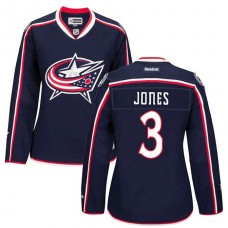 Women's Columbus Blue Jackets Seth Jones #3 Navy Home Premier Jersey