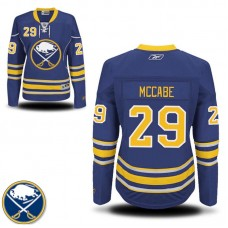 Women's Buffalo Sabres Jake McCabe #29 Navy Blue Home Premier Jersey