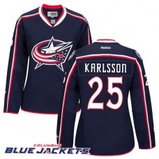 Women's Columbus Blue Jackets William Karlsson #25 Navy Home Premier Jersey