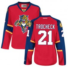 Women's Florida Panthers Vincent Trocheck #21 Red Home Premier Jersey