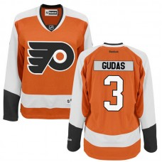 Women's Philadelphia Flyers Radko Gudas #3 Orange Home Premier Jersey