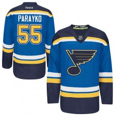 Youth St. Louis Blues Colton Parayko #55 Royal Blue Home Jersey