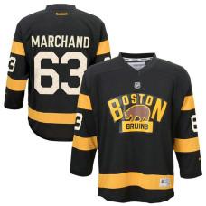 Youth Boston Bruins Brad Marchand #63 Black 2016 Winter Classic Premier Jersey