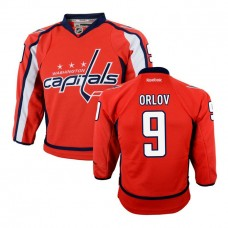 Youth Dmitry Orlov #9 Washington Capitals Red Premier Home Jersey