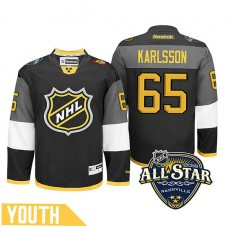 Youth Ottawa Senators Erik Karlsson #65 Black 2016 All-Star Premier Jersey