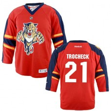 Youth Florida Panthers Vincent Trocheck #21 Red Home Premier Jersey