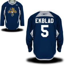 Youth Florida Panthers #5 Aaron Ekblad Royal Blue Practice Alternate Jersey