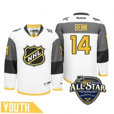 Youth Dallas Stars Jamie Benn #14 White 2016 All-Star Premier Jersey