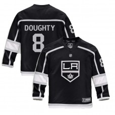 Youth Los Angeles Kings #8 Drew Doughty Black 2018 New Season Home Jersey