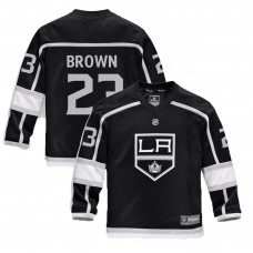 Youth Los Angeles Kings #23 Dustin Brown Black 2018 New Season Home Jersey