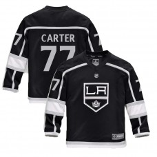 Youth Los Angeles Kings #77 Jeff Carter Black 2018 New Season Home Jersey