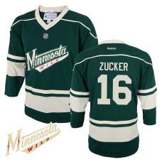Youth Minnesota Wild Jason Zucker #16 Green Alternate Jersey
