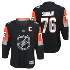 Youth Nashville Predators #76 P.K. Subban 2018 All Star Jersey