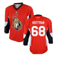 Youth Ottawa Senators #68 Mike Hoffman Red Home Jersey