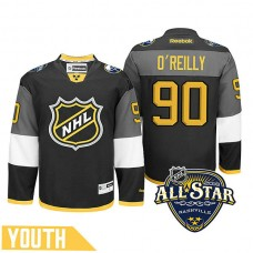 Youth Buffalo Sabres Ryan O'Reilly #90 Black 2016 All-Star Premier Jersey