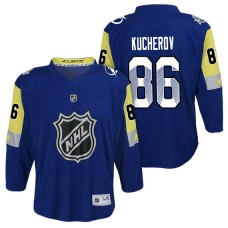 Youth Tampa Bay Lightning #86 Nikita Kucherov 2018 All Star Jersey