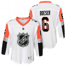 Youth Vancouver Canucks #6 Brock Boeser 2018 All Star Jersey