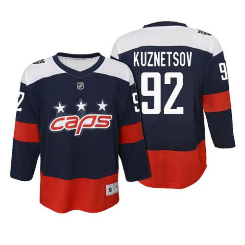 053a5961 Youth Washington Capitals #92 Evgeny Kuznetsov 2018 Stadium Series Jersey