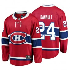 Youth Montreal Canadiens #24 Phillip Danault Red Home Breakaway Player Jersey