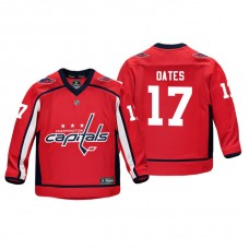 Youth Washington Capitals Adam Oates #17 Red Replica Player Home Jersey