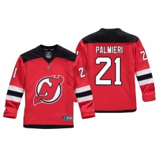 Youth New Jersey Devils Kyle Palmieri #21 Red Replica Player Home Jersey